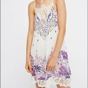 NWT Free People Who's Sorry Now Slip Dress Size S